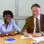 Ondertekening Contract high Performance Namibia