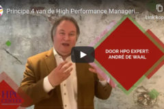 Principe 4 van de HPO Manager - Extern gericht en intern gericht